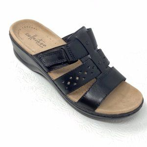 NWOT CLARKS COLLECTION Lexi Juno Slide Sandals